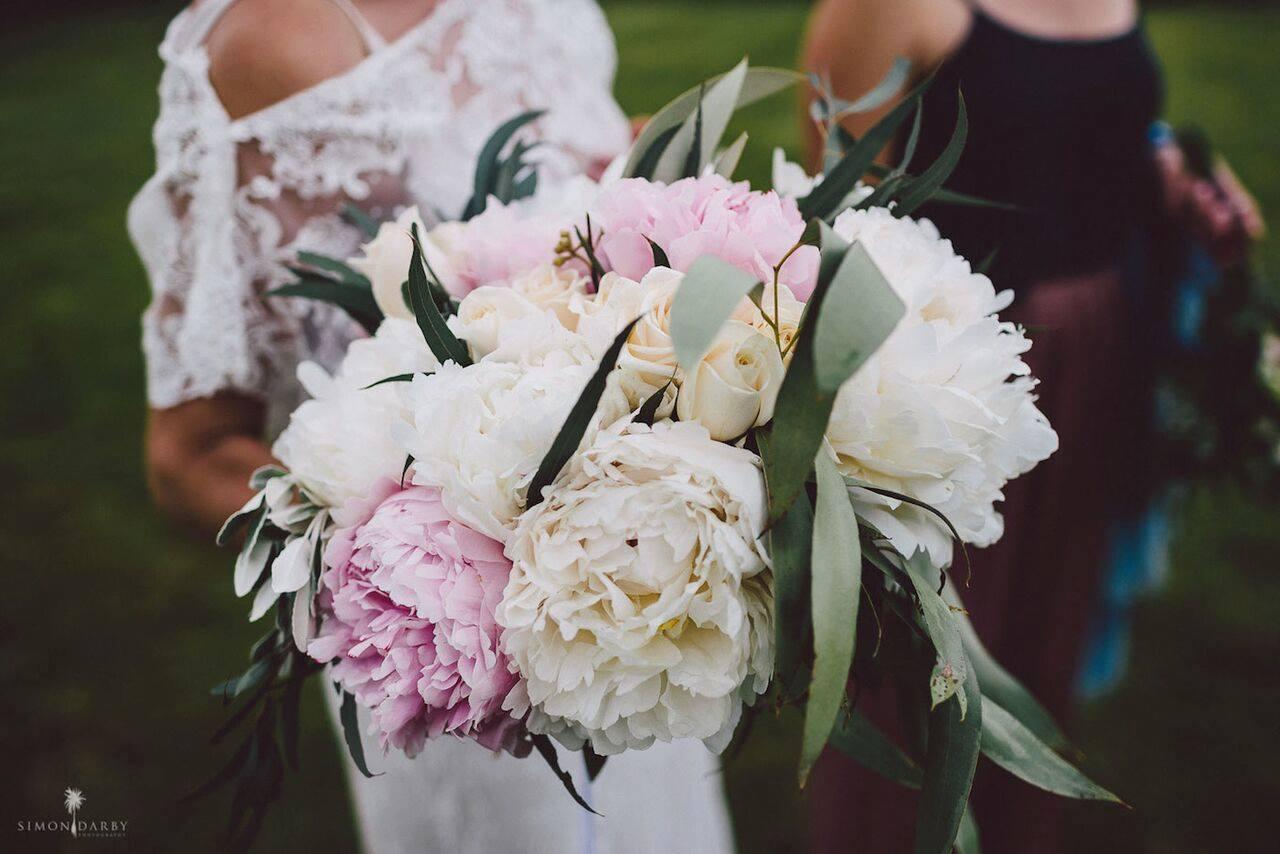 Fantail Weddings Peony Wedding Flowers Fantail Weddings