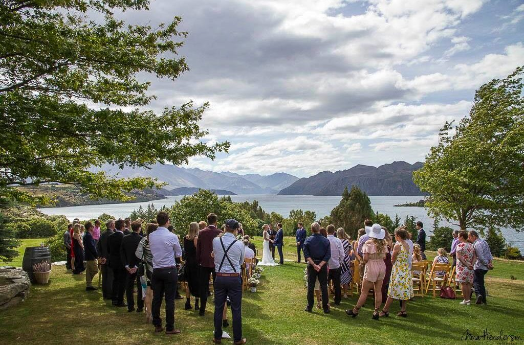 Olive Grove Wedding Venue in Wanaka