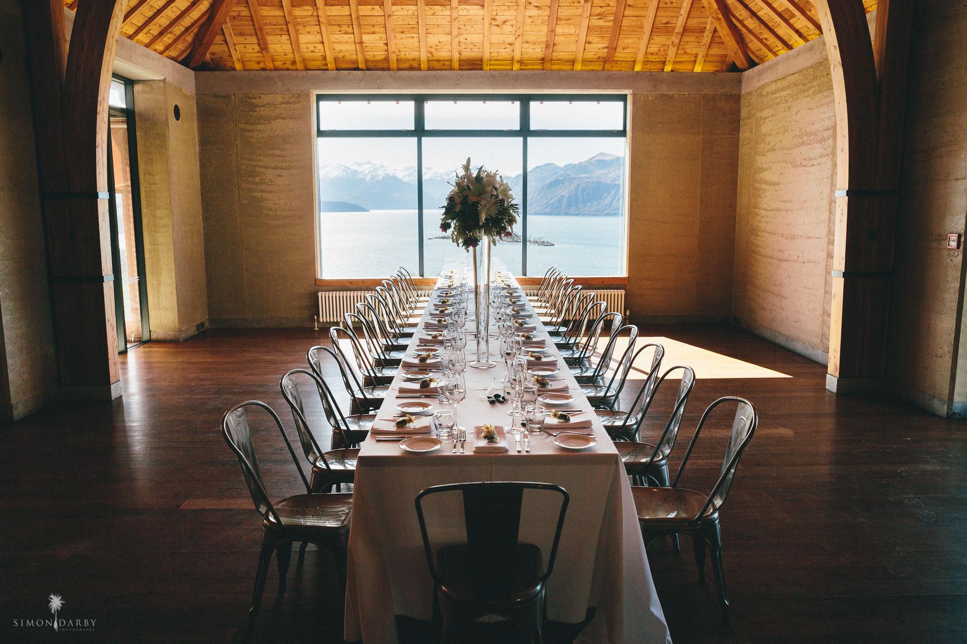 Fantail Weddings - Rippon Wedding Styling Wanaka