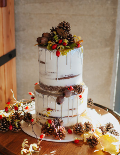 Fantail Weddings Cake Styling Wanaka