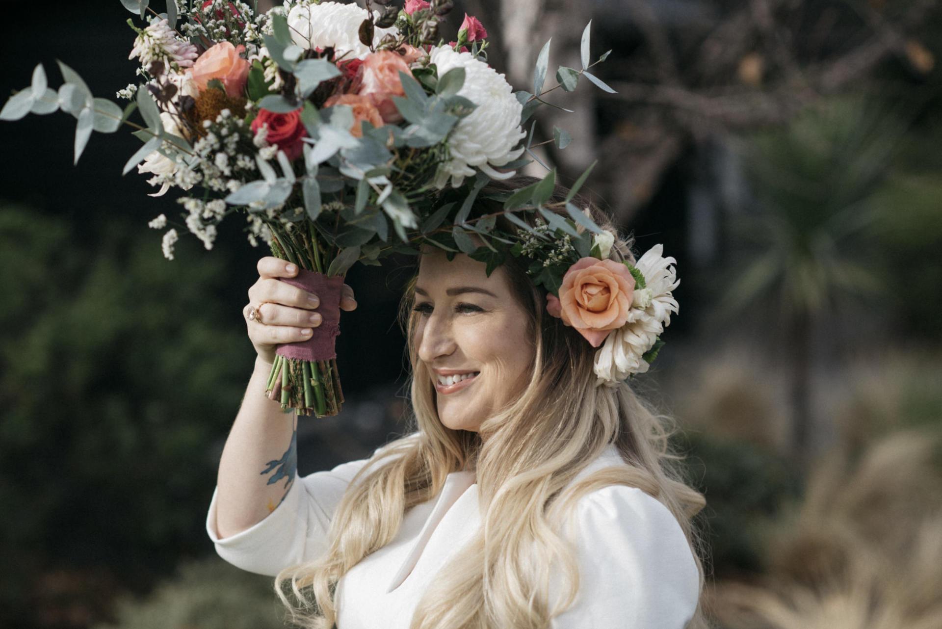 Fantail Weddings Bridal Flowers Wanaka
