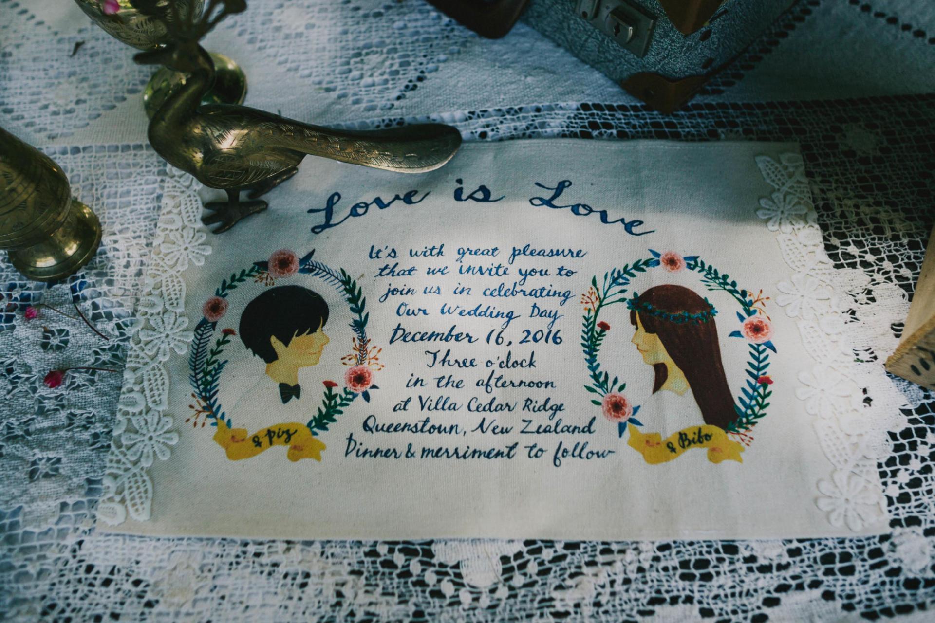 Fantail Weddings Styling New Zealand Wedding