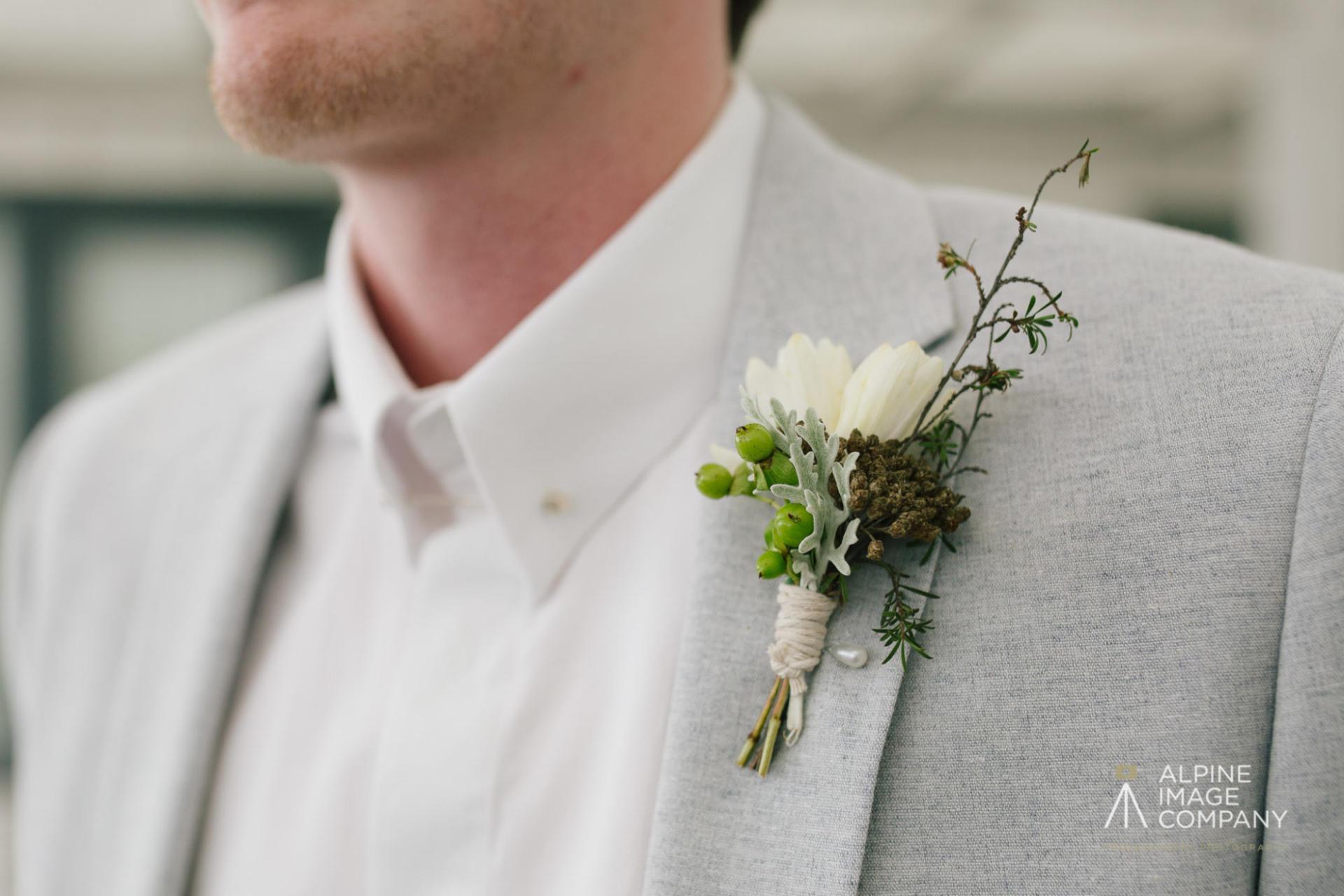 Fantail Weddings Wanaka Buttonhole