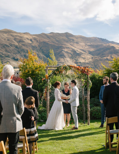 The Venue in Autumn - Wanaka Wedding