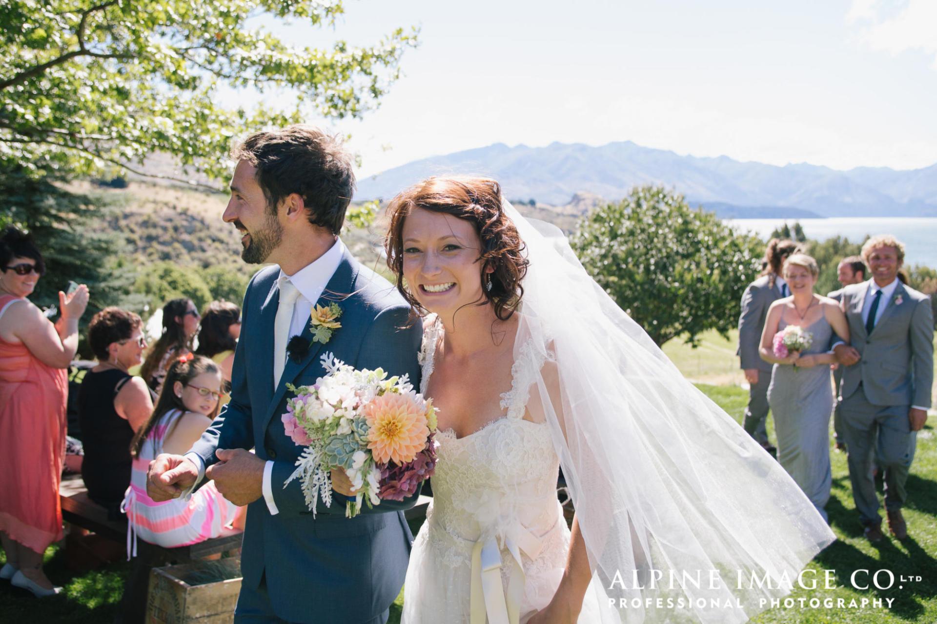 The Olive Grove Wanaka Wedding - Venue in Autumn