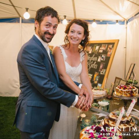 Olive Grove Wanaka Wedding Cake
