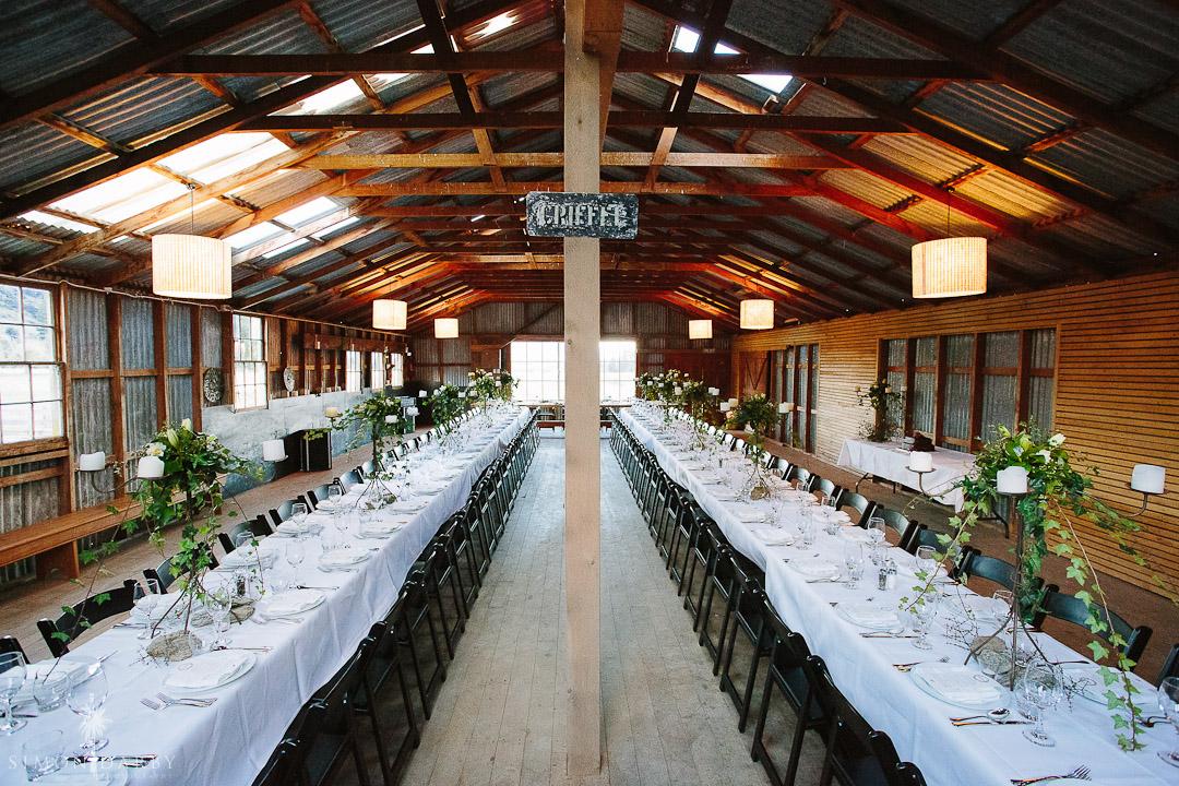 Fantail Weddings Wanaka - Criffel Woolshed