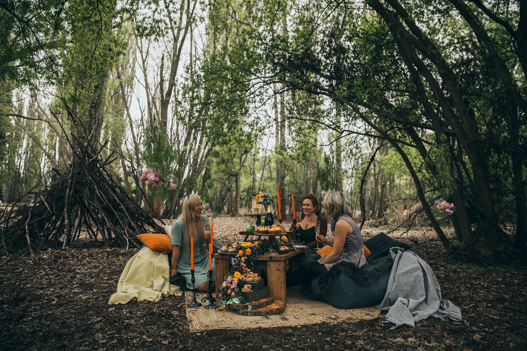 Fantail Weddings Wanaka - Tea Party