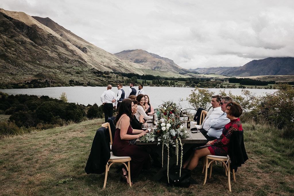 Wanaka and Queenstown wedding stylist and planner