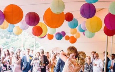 Colours that will set the perfect tone for your wedding