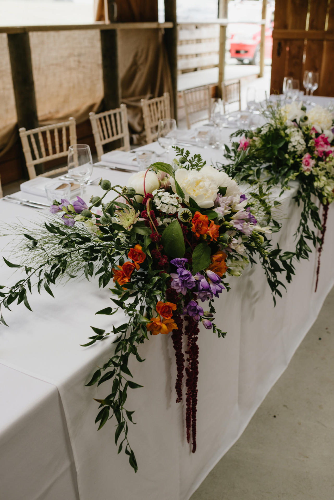 Wanaka wedding styling