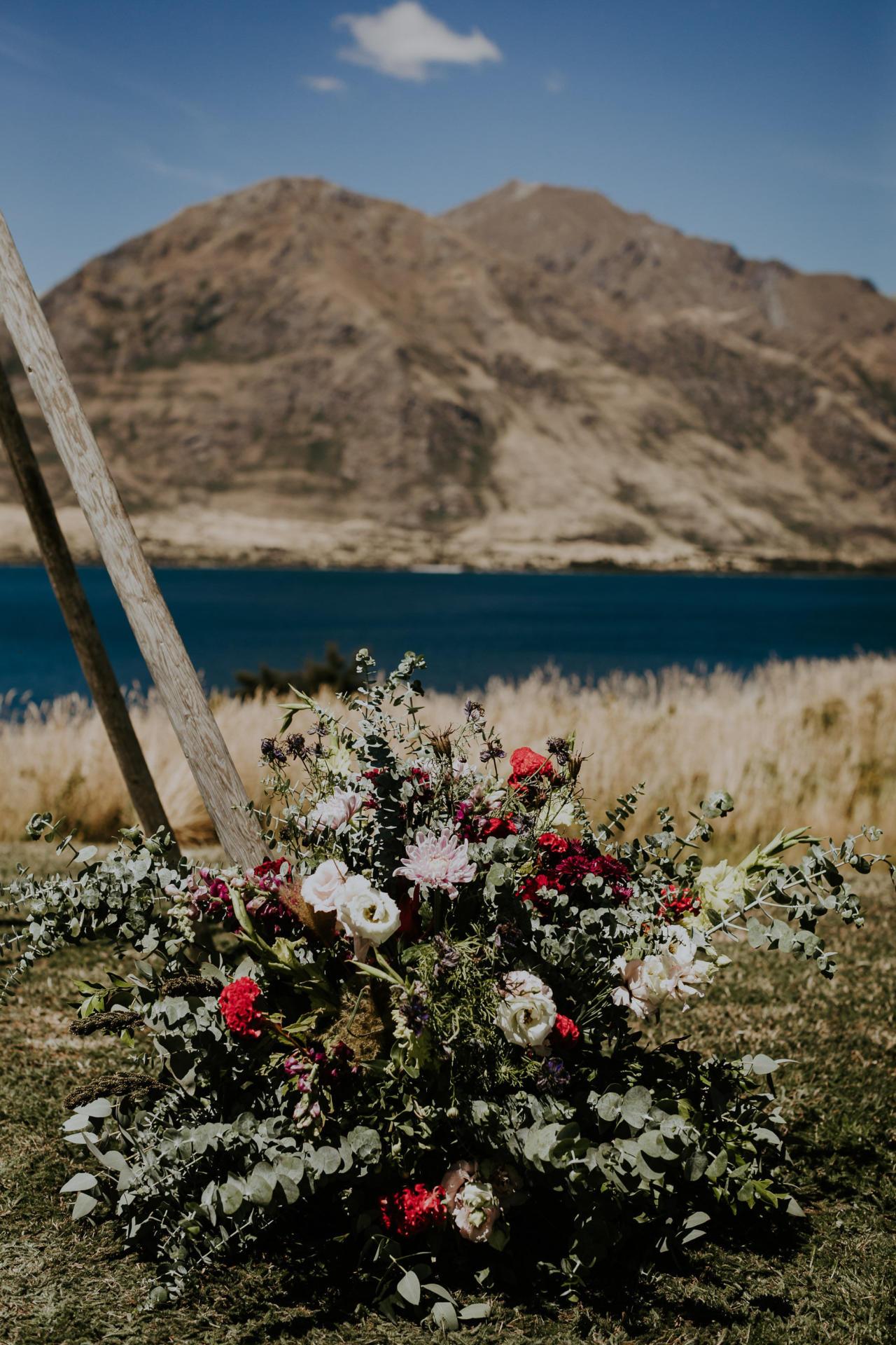 Wanaka wedding florist